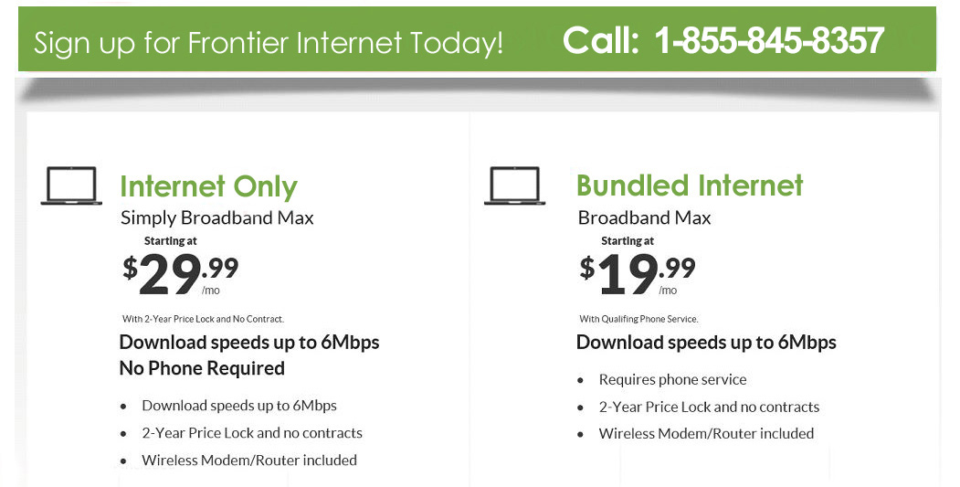 Direct LLC - Sign up for Frontier Internet Today! Call: 1-855-845-8357